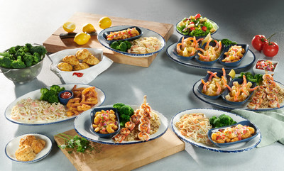 During Endless Shrimp® at Red Lobster®, guests can endlessly mix and match among five new and classic preparations.