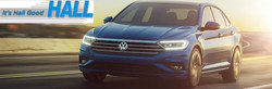 Milwaukee-area drivers can receive up to $750 in Cash Back incentives on the 2019 Volkswagen Jetta with Brookfield dealership Hall Cars.