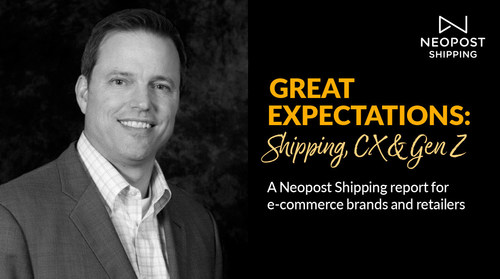 Matthew Mullen, spokesperson for Neopost Shipping's Great Expectation report