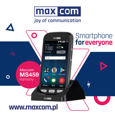 MAXCOM enters the American market! Maxcom is a hi-tech, fast-growing company engaged in manufacturing and constant advancement of telecommunication products: smartphones, rugged phones and classic phones. Company enters on American market with new smartphone for everyone – MS459 Harmony. The most characteristic feature is the unique on market, access to the functions of the phone from a computer or other device at any time and place. Maxcom will show its products on Mobile World Congress Americas in Los Angeles.