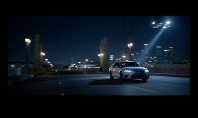 New Lexus marketing campaign highlights the mastery of the seventh-generation 2019 ES.