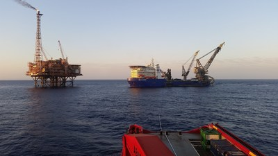 McDermott deployed two of its specialty vessels to complete the installation phase for the Greater Western Flank project for Woodside Energy Ltd. The DLV 2000 performed the pipelay campaign.