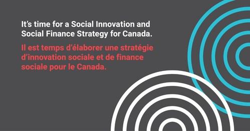 Aujourd'hui, les ministres de l'Emploi et Développement social Canada (EDSC) Jean-Yves Duclos et Patty Hajdu ont rendu publiques les recommandations du Groupe directeur sur la co-création d'une Stratégie d'innovation sociale et de finance sociale (Groupe CNW/Fondation McConnell)