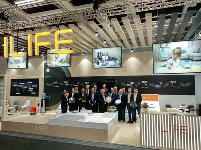 ILIFE Showcases Smart Clean Living Solutions at IFA 2018
