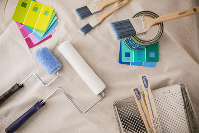 Valspar® brand paint applicators available exclusively at Lowe's.
