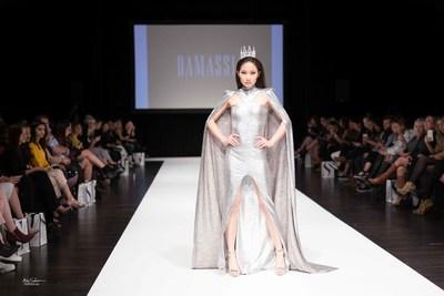 Designer: DAMASSIA, SFW Toronto 2017 Photo Credit: msfoto.ca (CNW Group/Startup Fashion Week)