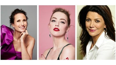 (L to R): Andie MacDowell, Amber Heard and Shohreh Aghdashloo will headline L'Oréal Paris Canada's #WorthIt Show.