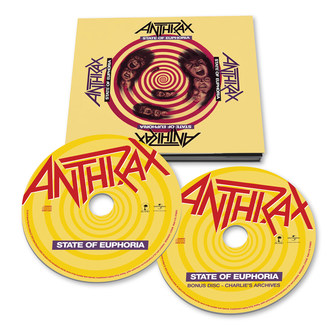 ANTHRAX Celebrate The 30th Anniversary of STATE OF EUPHORIA with Deluxe Anniversary Edition to be Released by Island Records/UMe on October 5