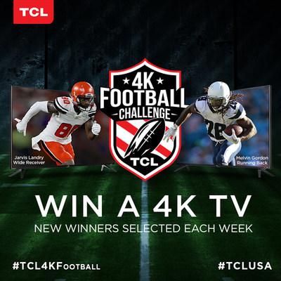 TCL Kicks Off New Season with 4K Football Challenge