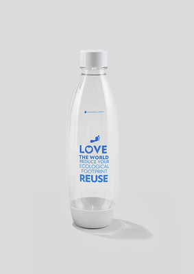 As part of its partnership with the Oceanic Society, SodaStream has created a limited edition