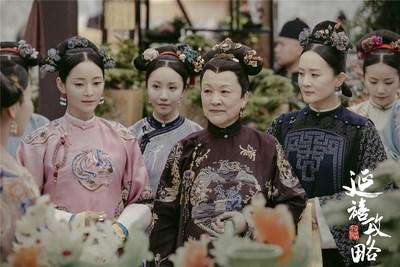 """""""História do Palácio Yanxi"""", da iQIYI, um drama de sucesso do verão, chega ao fim sendo transmitida mais de 15 bilhões de vezes (PRNewsfoto/iQIYI, Inc.)"""