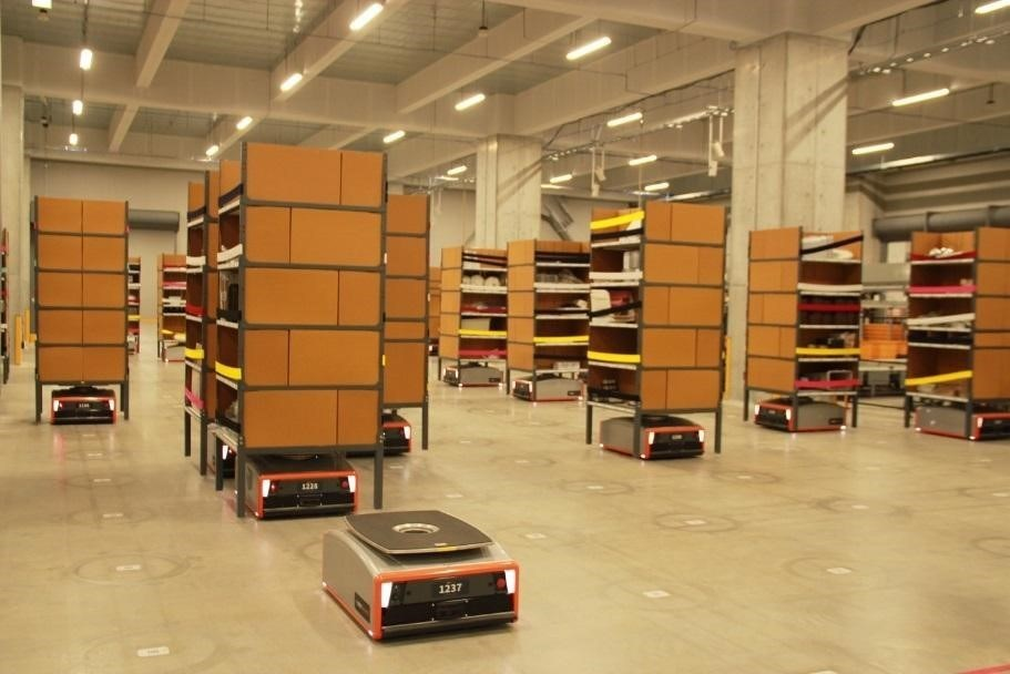 GreyOrange intelligent robotics systems deliver flexible, cost-effective supply chains to expedite distribution and fulfillment processes