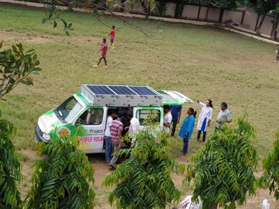 Edimpact Launches Project Surya Kiran - Solar Energy Based Digital Literacy Van