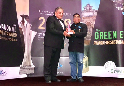Dr Batra's Multi-Specialty Homeopathy Wins 'The International Achievement Award For Quality and Business Excellence 2018' in Rome