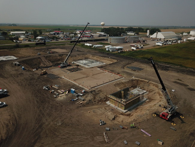 Construction underway at Red River Biorefinery site