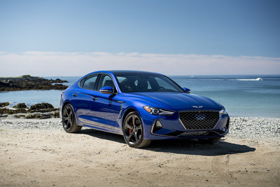 The first-ever, all-new Genesis G70 luxury sport sedan. Photo: James Lipman / jameslipman.com