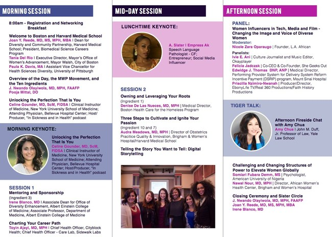 A look at the fun and empowering sessions attendees will get to engage in!