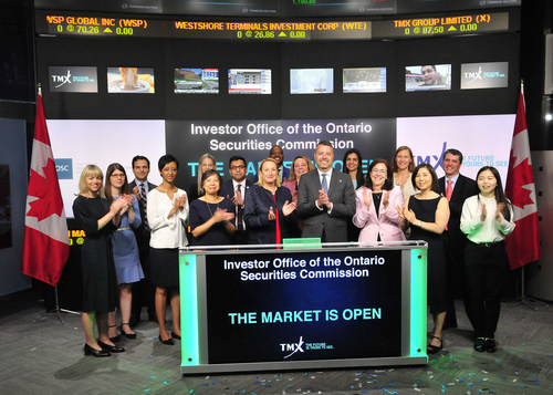 Investor Office of the Ontario Securities Commission Opens the Market (CNW Group/TMX Group Limited)