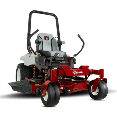 Auburn Tigers edition Exmark Radius S-Series zero-turn mower