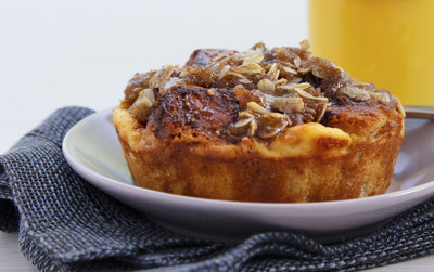 Bread Pudding for Breakfast: Chobani® Recipe Lands on United Airlines' Fall Menu