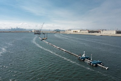 The Ocean Cleanup will deploy a fleet of 60 systems that are estimated to clean up 50% of the Great Pacific Garbage Patch in five years.