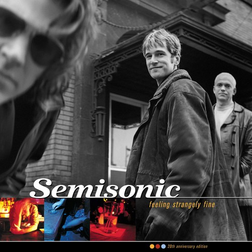 To celebrate the 20th anniversary of their seminal album Feeling Strangely Fine, Semisonic will release a deluxe edition reissue of the record on October 19th via UMe. The album will be released on deluxe edition CD and digital, as well as a limited edition gold vinyl pressing, which marks the first time ever a Semisonic album has been pressed to vinyl LP.