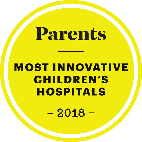 Parents magazine today named the 20 most innovative children's hospitals based on the results of its comprehensive survey.
