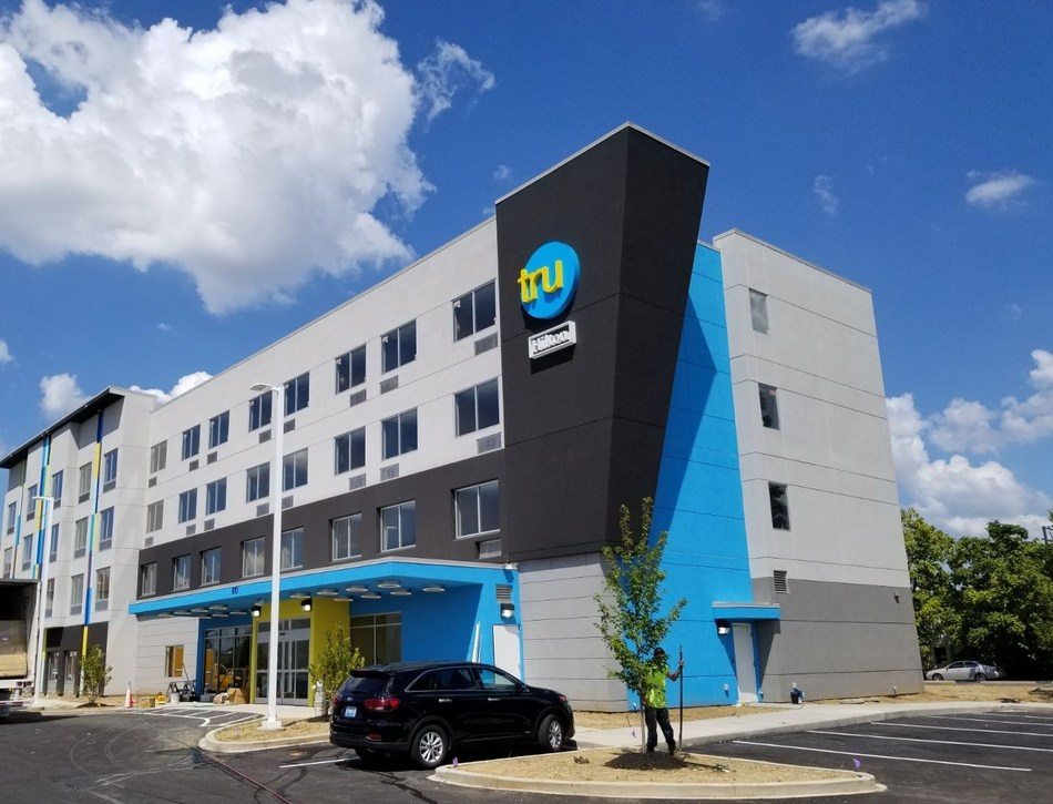 Tru by Hilton Louisville Airport due to open October 10th.