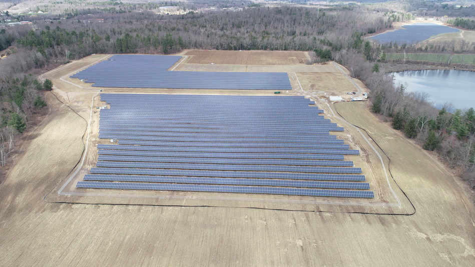 The Southwick community solar farms