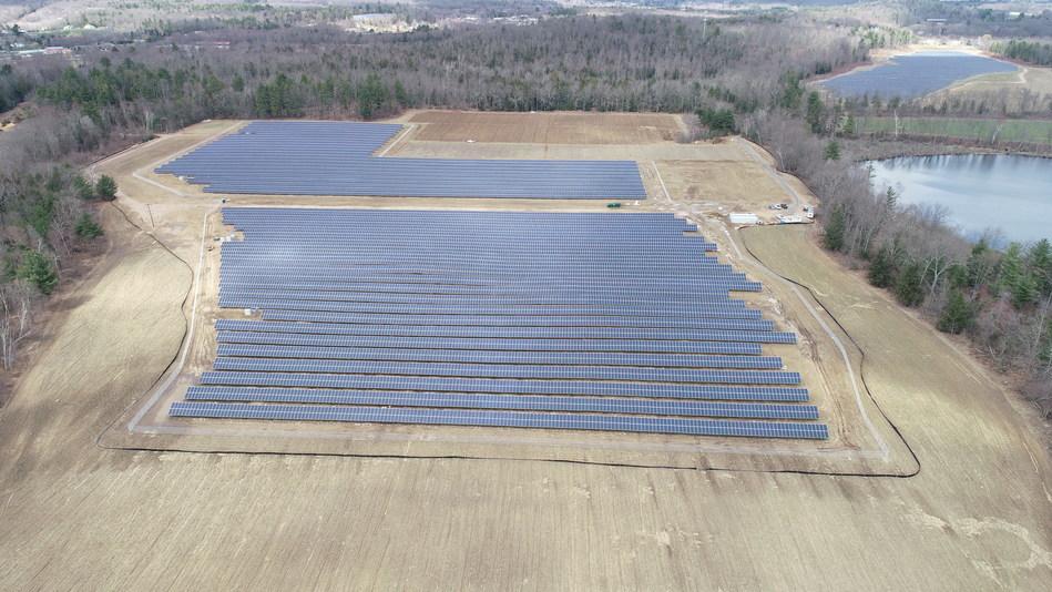 The Southwick community solar farms