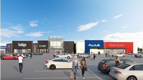 Exterior rendering of Hillcrest's north wing reconfiguration (CNW Group/Hillcrest)