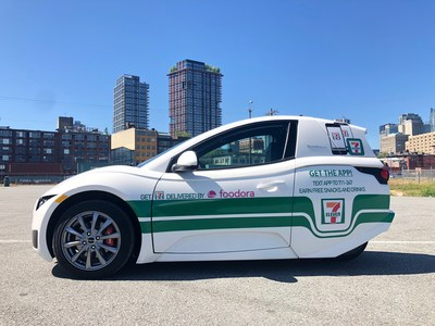 Electra Meccanica Announces Collaboration with 7-Eleven Canada (CNW Group/Electra Meccanica Vehicles Corp.)