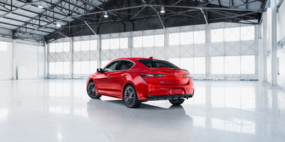 Acura ILX Ups its Game with Major Refresh for 2019; New Styling, Improved Tech, and New A-Spec Treatment (PRNewsfoto/Acura)