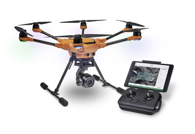 The Yuneec 3DR H520-G is a secure, low-cost, complete UAS solution for U.S. government customers.