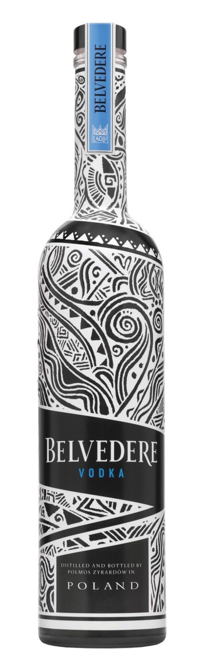 Belvedere Vodka 2018 Limited Edition Bottle