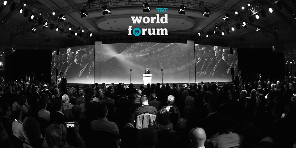 """Building on the success of the first TRT World Forum in 2017 - addressing the summit is Mr. Ibrahim Eren, Chairman and Director General of TRT. The 2018 World Forum will be one of most significant geopolitical events of the year: """"Envisioning Peace & Security in a Fragmented World"""" (PRNewsfoto/TRT World)"""