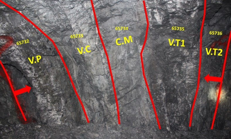 Constancia Vein (CNW Group/Great Panther Silver Limited)