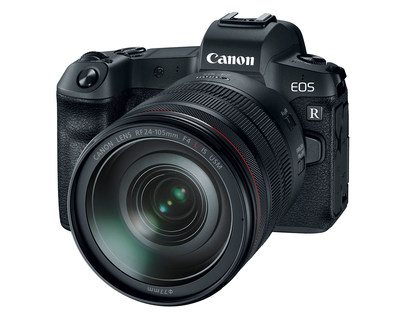 Canon EOS R Full-Frame Mirrorless Camera with RF 24-105mm F4 L