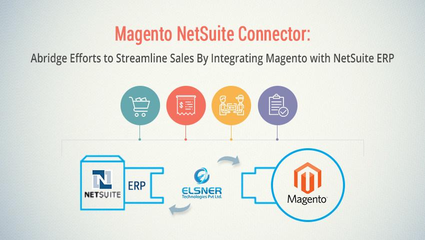 Eslner's Magento Netsuite Connector (PRNewsfoto/ELSNER Technologies Pvt Ltd)