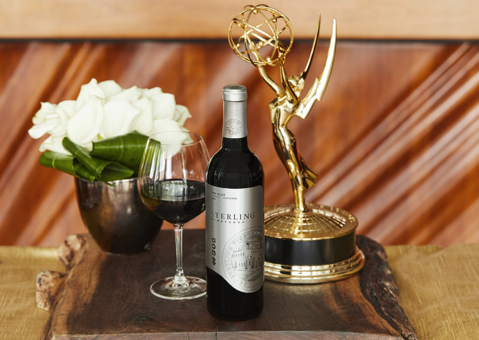 Iconic Napa Valley winery Sterling Vineyards, known for its 'Always Polished, Never Dull' lifestyle, returns to television's most anticipated night as the Official Wine Sponsor of the 70th Emmy® Awards Season.