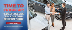 Customers in Collins, Miss. can receive above market-value on any trade of a vehicle released in 2011 or later at Sullivan Motors