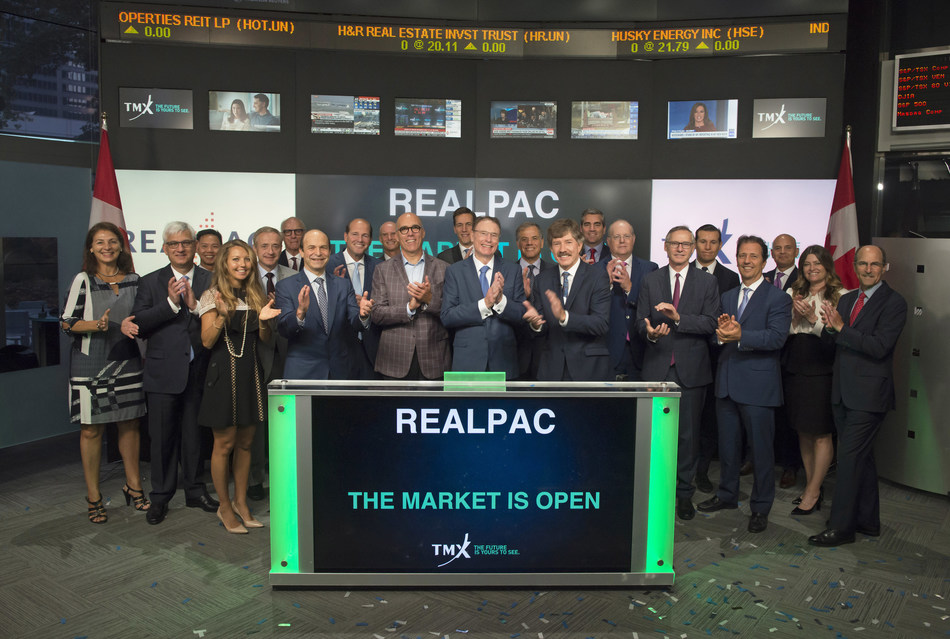 REALPAC Opens the Market (CNW Group/TMX Group Limited)