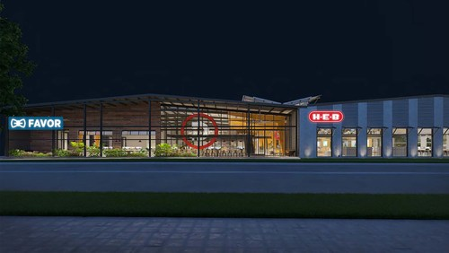 H-E-B, the largest privately-held employer in Texas, continues its path toward becoming a dominant force in the digital retail space, announcing a long-term lease for a building in East Austin. The company will develop a world-class tech facility and innovation lab for its growing H-E-B Digital team and Favor, the Austin-based on-demand delivery service that is a wholly-owned subsidiary of H-E-B. The two-story, 81,000 square-foot facility, is slated for completion in spring 2019.