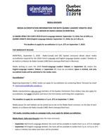 Accreditation application (CNW Group/CBC/Radio-Canada)