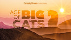 CuriosityStream Chronicles The Fiercest Felines To Ever Walk The Earth With The Epic Natural History Event - AGE OF BIG CATS - Premiering September 19