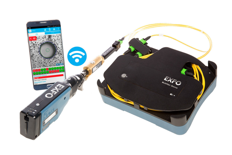 ConnectorMax MPO Link Test Solution (CNW Group/EXFO Inc.)