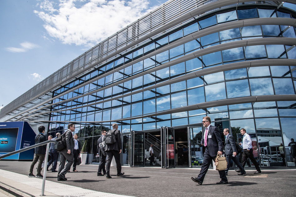 The new venue in Farnborough will offer the platform for new business partnerships, unique exhibition space and Ariel demonstrations (PRNewsfoto/Helitech International)