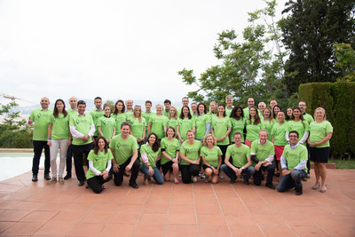 The 2018 class of mentors and entrepreneurs for Nutrition Greenhouse Europe.