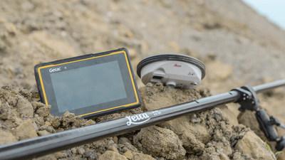 国际测量大厂徕卡选择神基强固平板搭配新品推升效能
