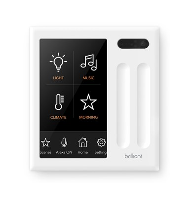 Brilliant 2 Light Switch